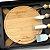 Kit Queijo com tábua Em Bambu e Chaveiro RE/MAX - KT90149 - COM NOME INDIVIDUAL - Imagem 2