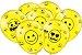 """Balão 9"""" - Emoji c/ 25 unidades - Imagem 1"""