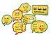 Kit Placas - Emoji c/ 9 unidades - Imagem 1