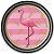 Prato - Flamingo c/ 8 unidades - Imagem 1