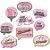 Kit Placas - Flamingo c/ 9 unidades - Imagem 1