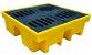 Dique de Contenção (Palete) De Polietileno 4 Tambores Alto 500 Litros - Imagem 1