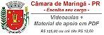 Videoaulas CÂMARA DE MARINGÁ (escolha seu cargo / curso) - Jornada de 30 horas semanais - Imagem 1