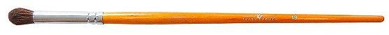 Pincel Profissional para esfumar REF: Brown 19  PROMOÇÃO  - Imagem 1