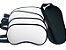 Máscara de dormir branca  para sublimação - Imagem 1