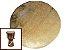 Disco de Lonca de Boi - Couro para Tambores, Atabaques, Bongôs. 35cm / 45cm / 55cm - Imagem 1
