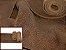 Rolos de Couro Brut - Cor: Tabaco Antique - 1.0/1.4mm - Imagem 1
