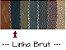 Couro Linha Brut - Cor: Preto fosco - 1.0/1.4 mm - Imagem 5