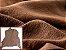 Carneiro Crispado - Cor: Tabaco - Imagem 1