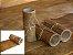 Rolos de Lonca de Carneiro - Cor: Natural - 0.4 à 0.6 mm - Imagem 1