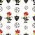 Papel de Parede Adesivo Atlético MG Escudo Mascote Fundo Branco - Imagem 2