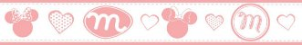 Faixa Decorativa Minnie Rosa - Imagem 2