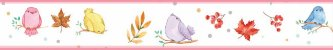 Faixa Decorativa Passarinhos - Imagem 2