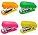 Mini Grampeador Neon Brw - Imagem 1