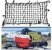 Rede Elástica Para Carga Com Ganchos 120 x 90 Cm - Imagem 1