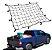 Rede Elástica Para Carga Com Ganchos 120 x 90 Cm - Imagem 3