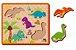 Quebra-Cabeça de Encaixe ABC Dinossauros - Imagem 1