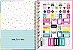 Caderno Universitário 1 Matéria Be Nice Quadrados - Imagem 3