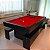 Mesa de Bilhar Versátil 2P TX com Tampo de Jantar e 2 Bancos  - Imagem 8