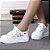 Sapato Floral Respirável com Plataforma - Imagem 1