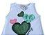 Camiseta Regata Branca Infantil - Abrange Tamanho 3 - Imagem 2