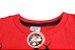 camiseta personagens vermelha homem aranha - Imagem 2