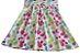 vestido frutinhas Abrange com cinto rosa tamanho 8 - Imagem 4