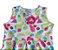 vestido frutinhas Abrange com cinto rosa tamanho 8 - Imagem 2