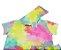 conjunto curto tie dye com capuz  - Imagem 2