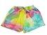 conjunto curto tie dye com capuz  - Imagem 3