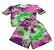 conjunto tie dye manguinha princesa - Imagem 1