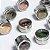 KIT 6 unidades de Porta Condimentos Tempero Inox Magnético Imã Geladeira F1 - Imagem 2