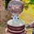 20 cm Ninho com Brigadeiro de Nutella com Topo de Balões - Imagem 1