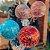 20 cm Red Velvet e Topo de Morangos e Balão - Imagem 2