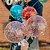 20 cm Red Velvet e Topo de Morangos e Balão - Imagem 3