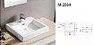 Cuba de cerâmica para banheiro/lavabo 49x45x12 cm - Imagem 3