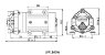 Bomba Diafragma Pressurização Lefoo LFP 1100 W 60 L/h + Fonte de Energia 110/220V - Imagem 3