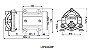 Bomba Diafragma Pressurização Lefoo LFP 1050 W 35 L/h + Fonte de Energia 110/220V - Imagem 3