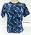 Camiseta Camuflada Azul - Imagem 1