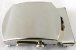 Fivela de Metal Prateada (Rolete) - Imagem 1