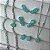 Conjunto Choker e Brincos Gotinha Verde Tiffany - Banho Ródio - Imagem 2