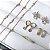 Brinco Argolinha Ponto de Luz Zircônia - Banho Ouro 18K - Imagem 2