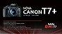 Câmera Canon EOS Rebel T7 + com lente 18-55mm IS II - Imagem 3