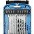 Kit de Acessórios para Furadeira e Parafusadeira com 32 Peças - GAMMA-G19511AC - Imagem 4