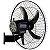 Ventilador de Parede Preto 135W Bivolt com 5 Pás Rajada Pro 60 - WAP-FW006661 - Imagem 5