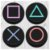 Porta Copos Gamer Botões Ps4 - Imagem 1