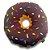 Almofada Rosquinha Donut - Chocolate - Imagem 1