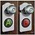 Aviso De Porta Gamer Botões A E B - Imagem 2