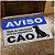 Capacho Em Vinil Aprovados Pelo Cão - 60 X 40 - Imagem 2