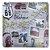 Placa De Metal Route 66 Oklahoma - Imagem 1